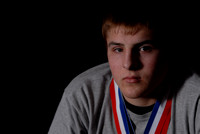 Cain Glanzer State Wrestling Champ
